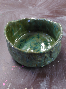 CricketDiane 2016 Autumn Bowl sculpture art in clay